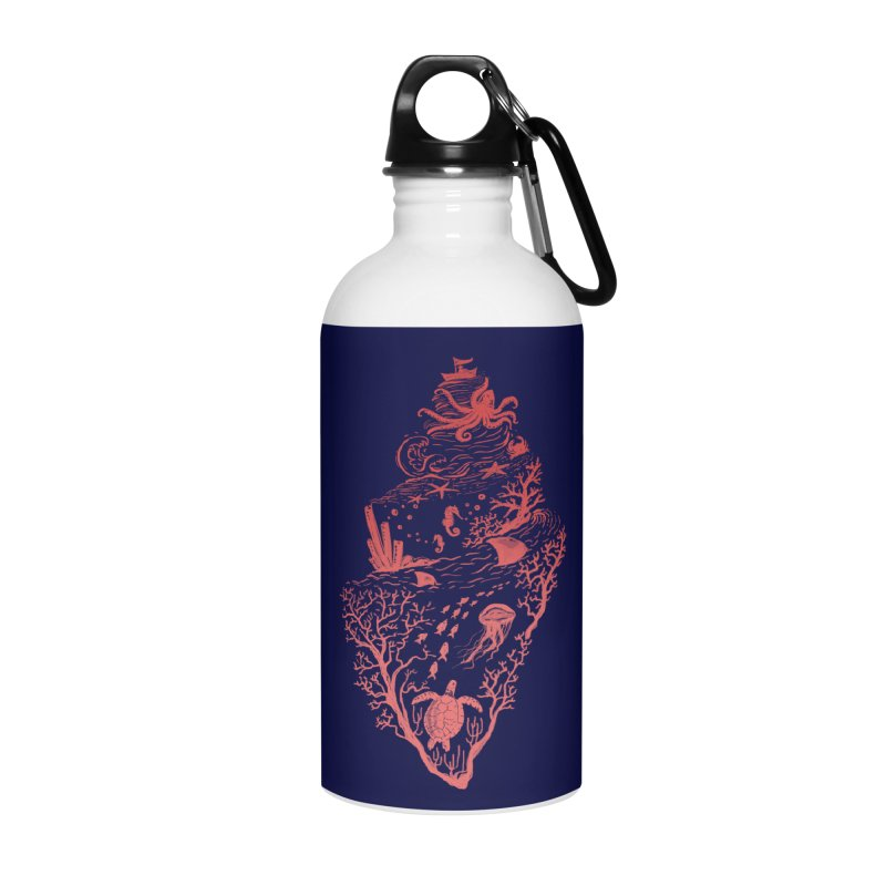 The Great Adventure Accessories Water Bottle by Winterglaze's Artist Shop