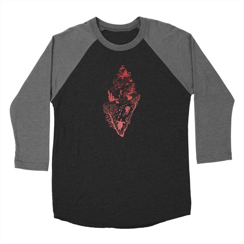 The Great Adventure Women's Baseball Triblend Longsleeve T-Shirt by Winterglaze's Artist Shop