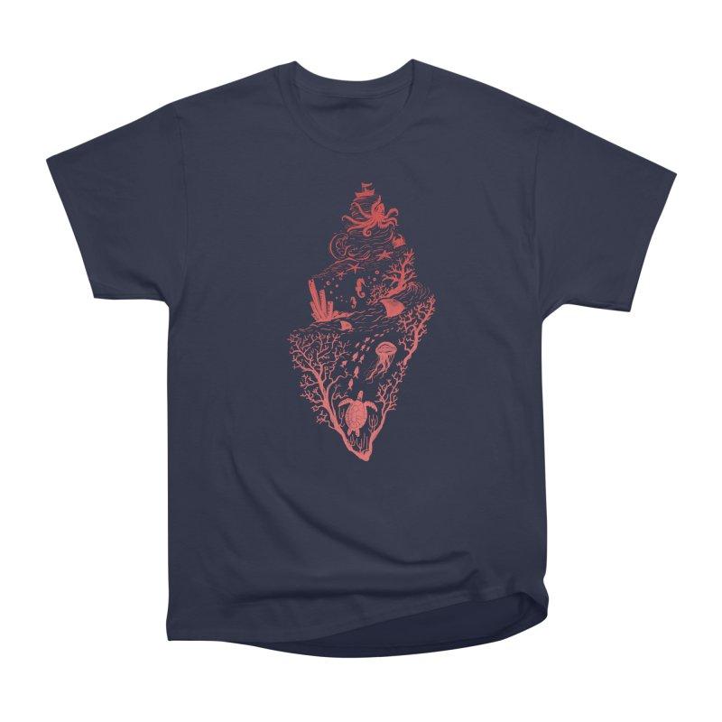 The Great Adventure Men's Heavyweight T-Shirt by Winterglaze's Artist Shop