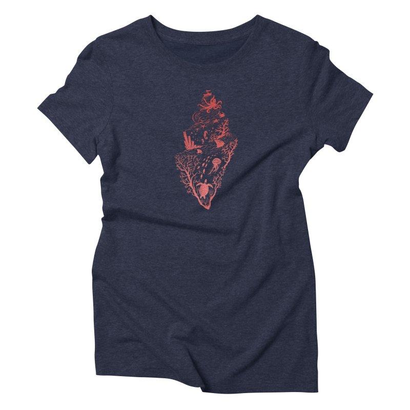 The Great Adventure Women's T-Shirt by Winterglaze's Artist Shop