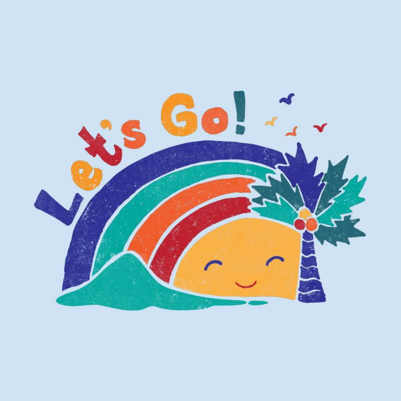 LET'S GO! Men's T-Shirt by Winterglaze's Artist Shop