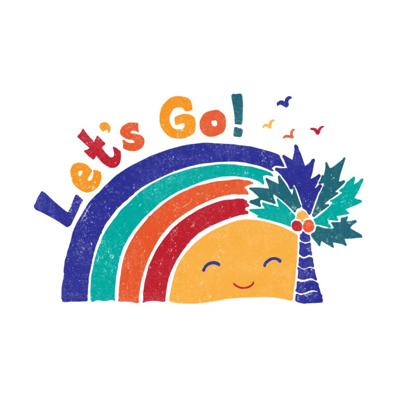 LET'S GO! Accessories Notebook by Winterglaze's Artist Shop