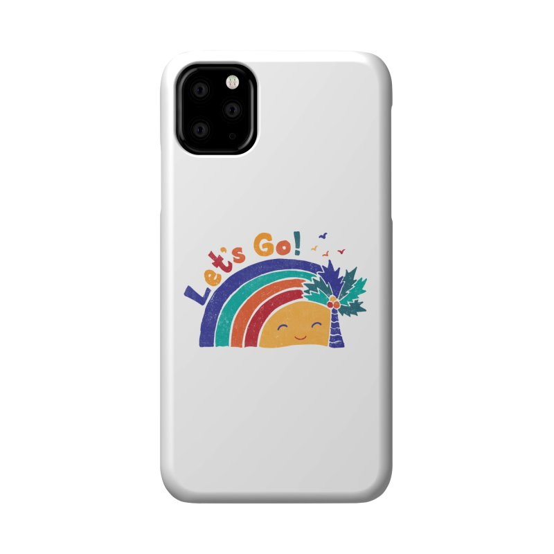 LET'S GO! Accessories Phone Case by Winterglaze's Artist Shop