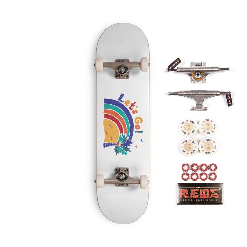 LET'S GO! Accessories Complete - Pro Skateboard by Winterglaze's Artist Shop