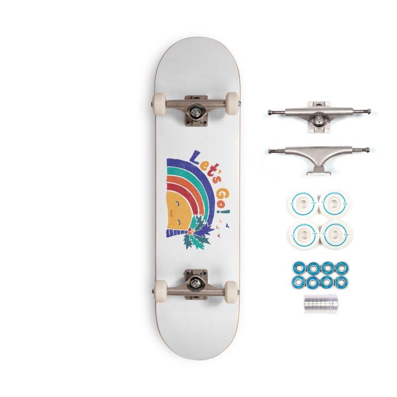 LET'S GO! Accessories Complete - Basic Skateboard by Winterglaze's Artist Shop