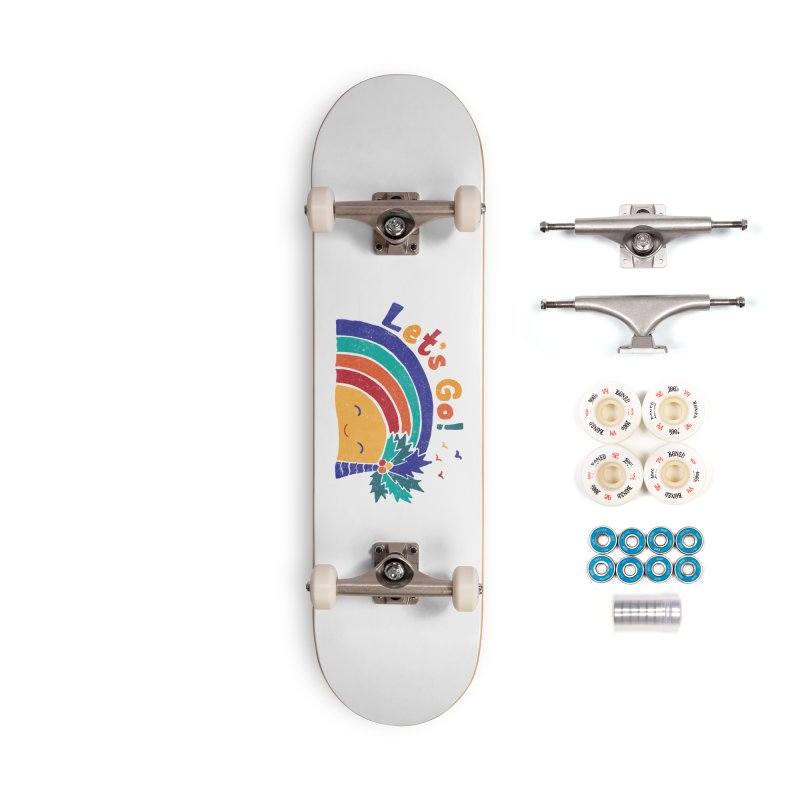 LET'S GO! Accessories Complete - Premium Skateboard by Winterglaze's Artist Shop