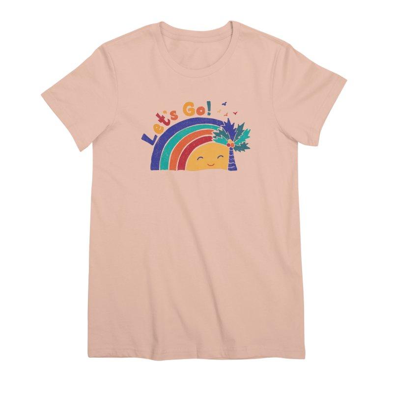 LET'S GO! Women's Premium T-Shirt by Winterglaze's Artist Shop