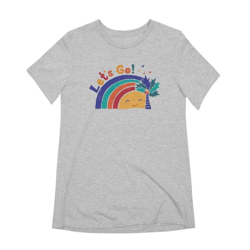 LET'S GO! Women's Extra Soft T-Shirt by Winterglaze's Artist Shop