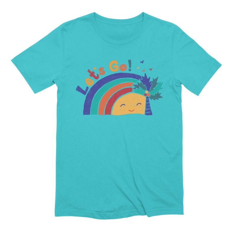 LET'S GO! Men's Extra Soft T-Shirt by Winterglaze's Artist Shop