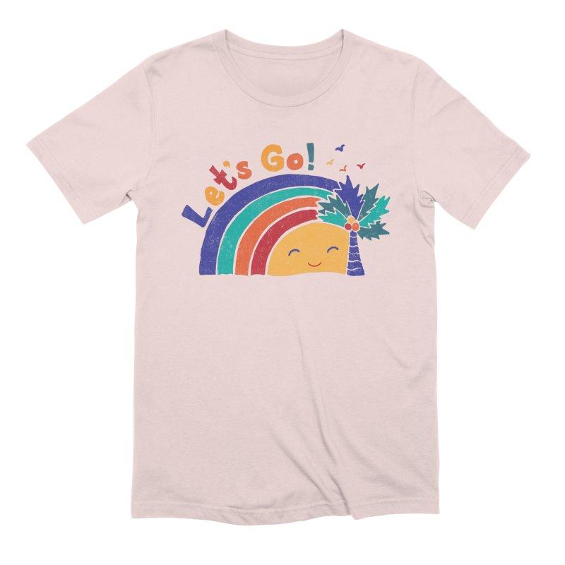 LET'S GO! Men's Extra Soft T-Shirt by Winterglaze's Artist Shop