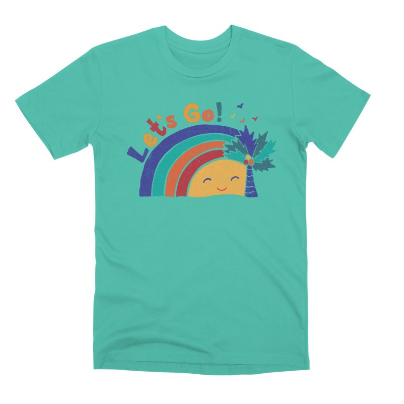 LET'S GO! Men's Premium T-Shirt by Winterglaze's Artist Shop