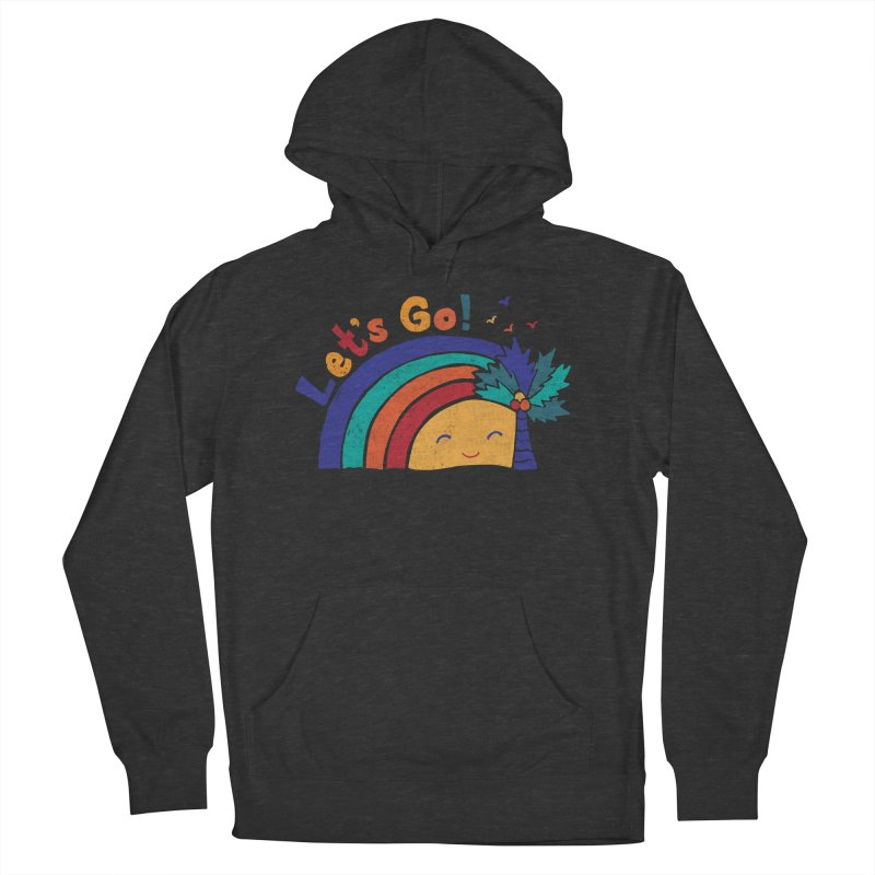 LET'S GO! Men's French Terry Pullover Hoody by Winterglaze's Artist Shop