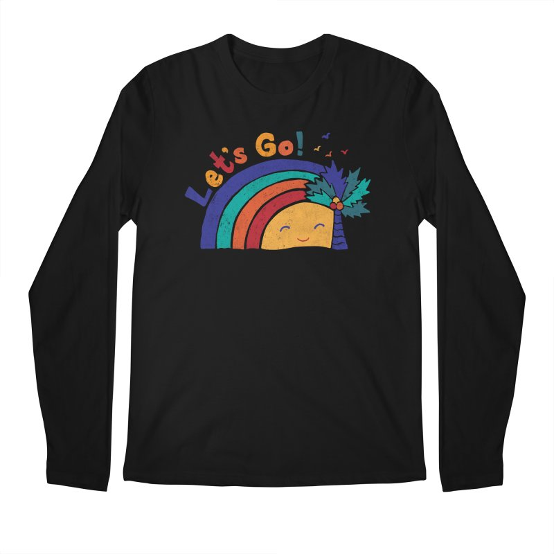 LET'S GO! Men's Regular Longsleeve T-Shirt by Winterglaze's Artist Shop