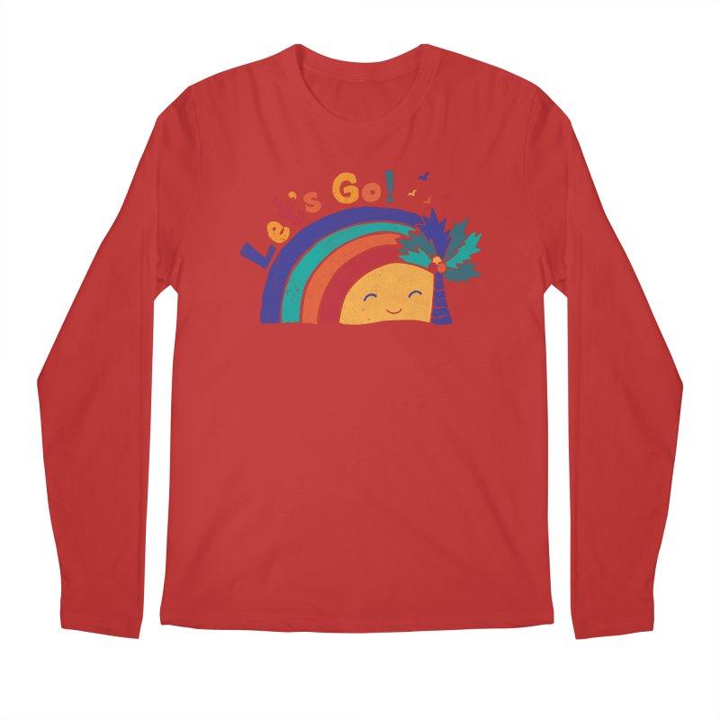 LET'S GO! Men's Regular Longsleeve T-Shirt by Winterglaze's Artist Shop