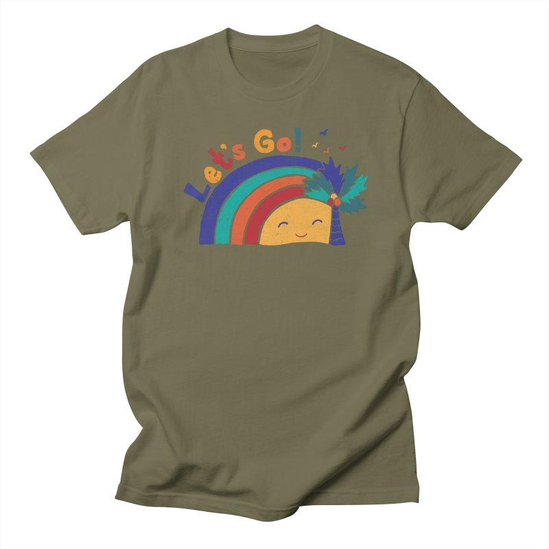 LET'S GO! Women's Regular Unisex T-Shirt by Winterglaze's Artist Shop
