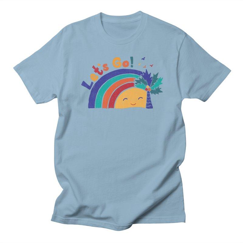 LET'S GO! Men's Regular T-Shirt by Winterglaze's Artist Shop
