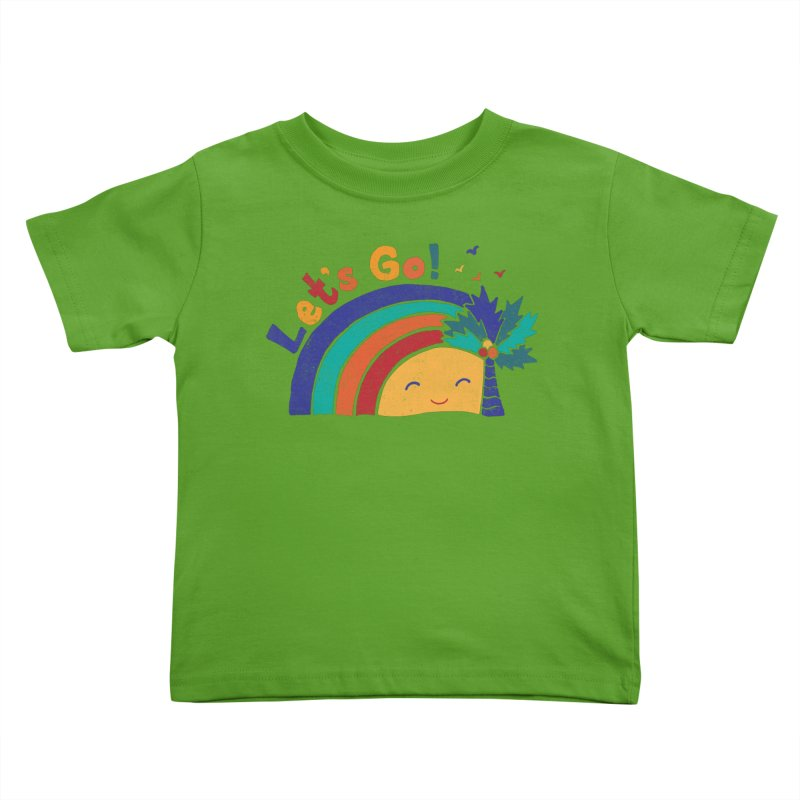 LET'S GO! Kids Toddler T-Shirt by Winterglaze's Artist Shop