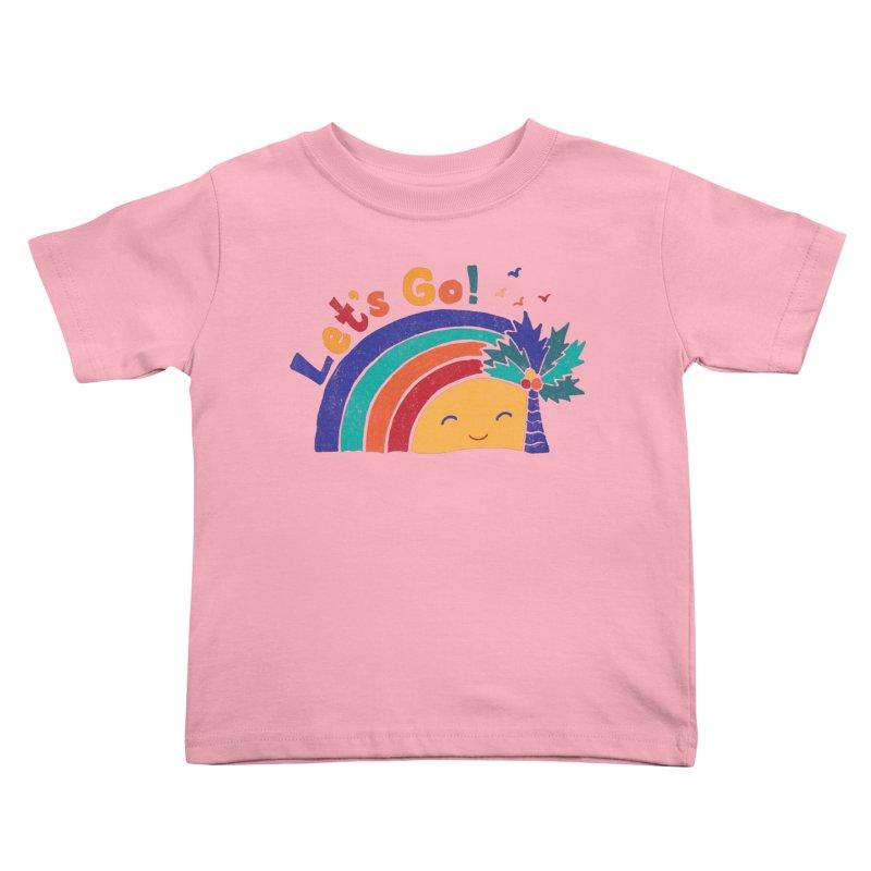 LET'S GO! Kids Toddler T-Shirt by Winterglaze's Artist Shop