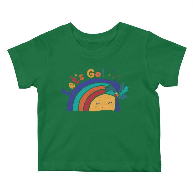 LET'S GO! Kids Baby T-Shirt by Winterglaze's Artist Shop