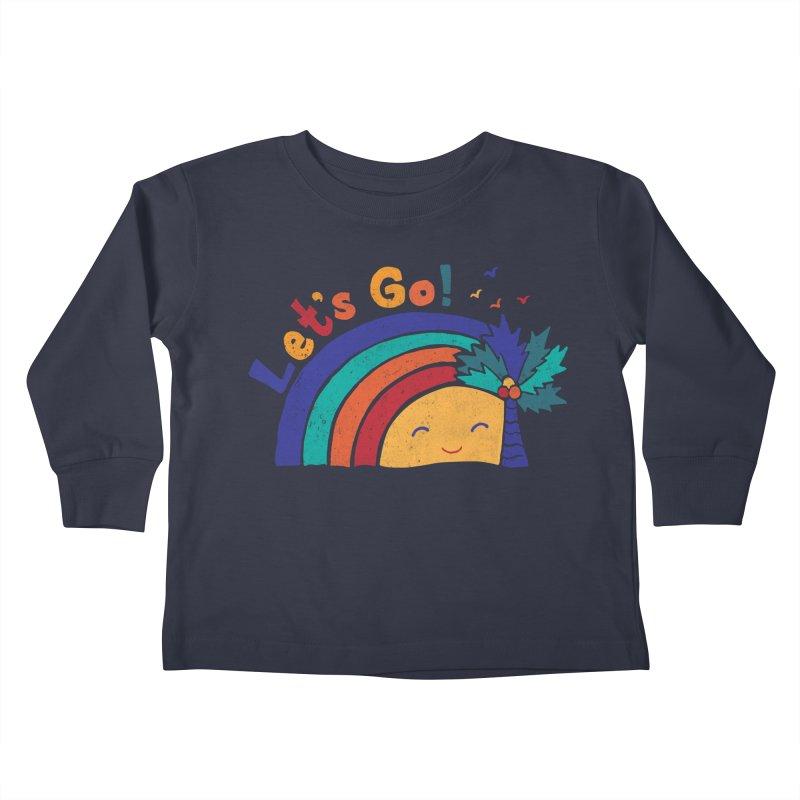 LET'S GO! Kids Toddler Longsleeve T-Shirt by Winterglaze's Artist Shop