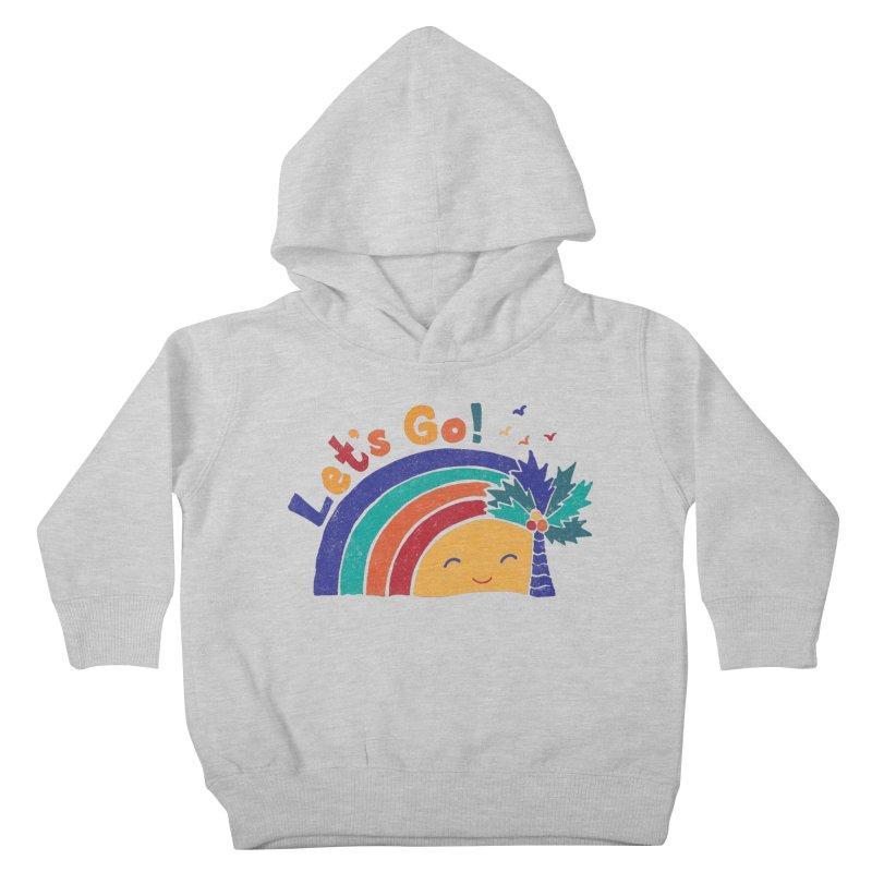 LET'S GO! Kids Toddler Pullover Hoody by Winterglaze's Artist Shop