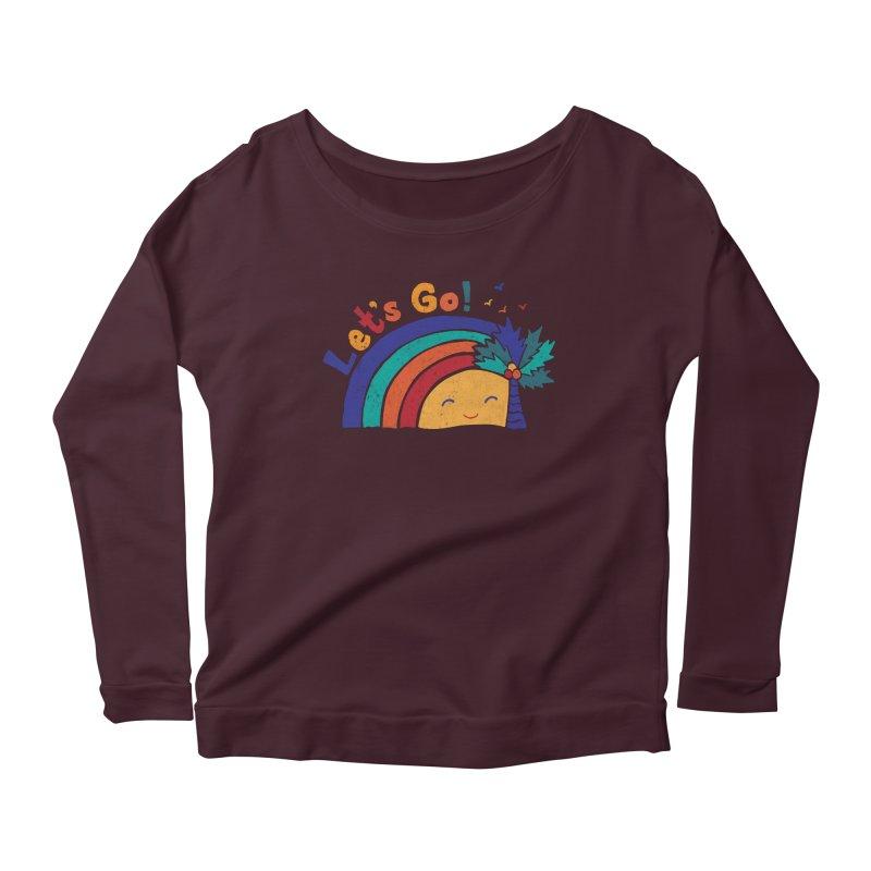 LET'S GO! Women's Longsleeve T-Shirt by Winterglaze's Artist Shop