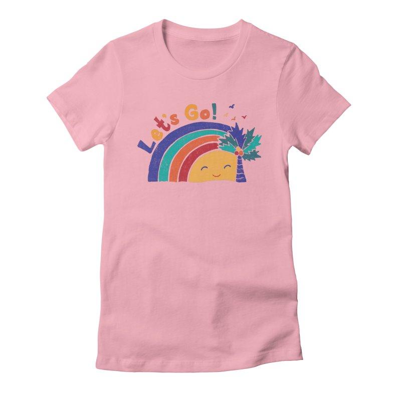 LET'S GO! Women's T-Shirt by Winterglaze's Artist Shop