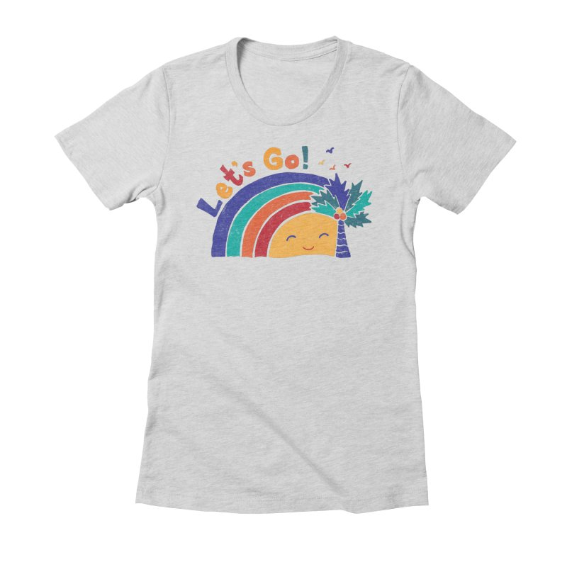 LET'S GO! Women's T-Shirt by Winterglaze's Artist Shop
