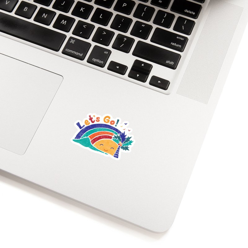LET'S GO! Accessories Sticker by Winterglaze's Artist Shop