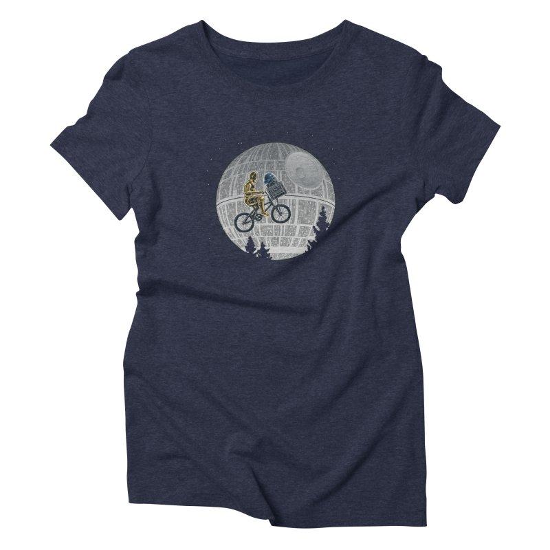 E2T2 Women's Triblend T-shirt by WIRDOU