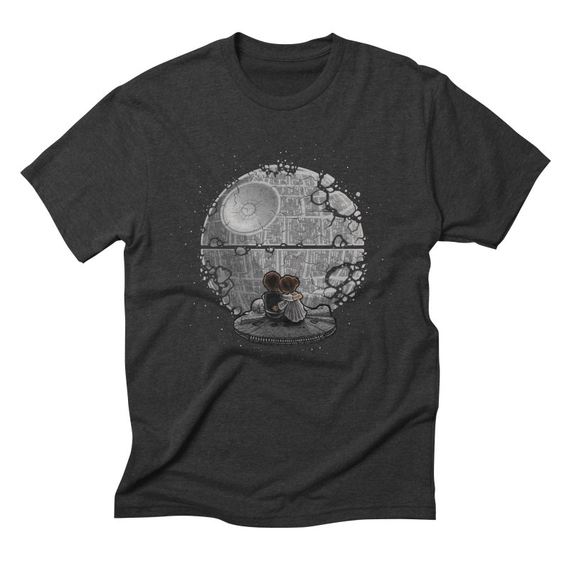 Perfect Date Men's Triblend T-Shirt by WIRDOU
