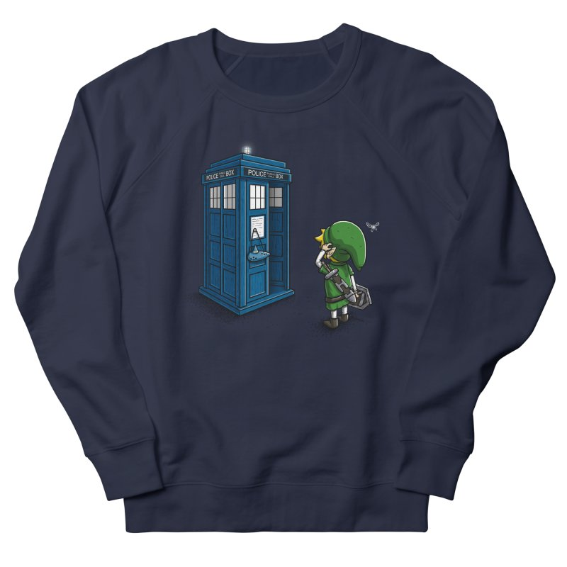 The Ocarina of Time Travel Women's Sweatshirt by WIRDOU
