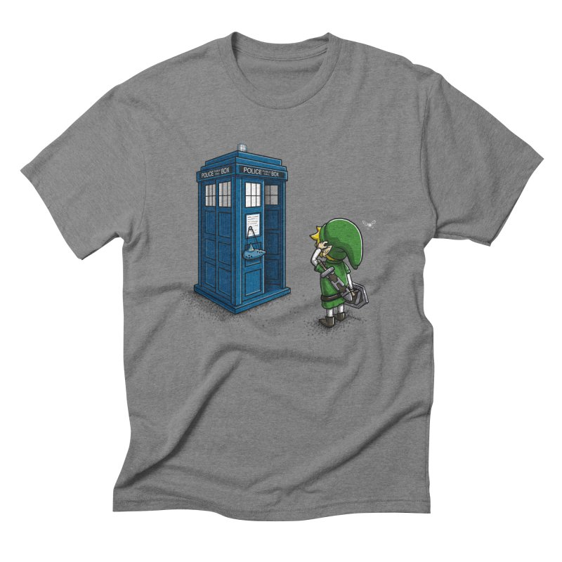 The Ocarina of Time Travel Men's Triblend T-shirt by WIRDOU