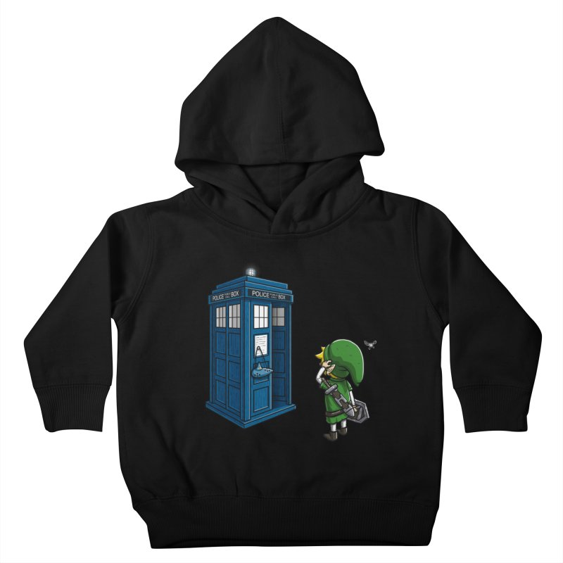 The Ocarina of Time Travel Kids Toddler Pullover Hoody by WIRDOU