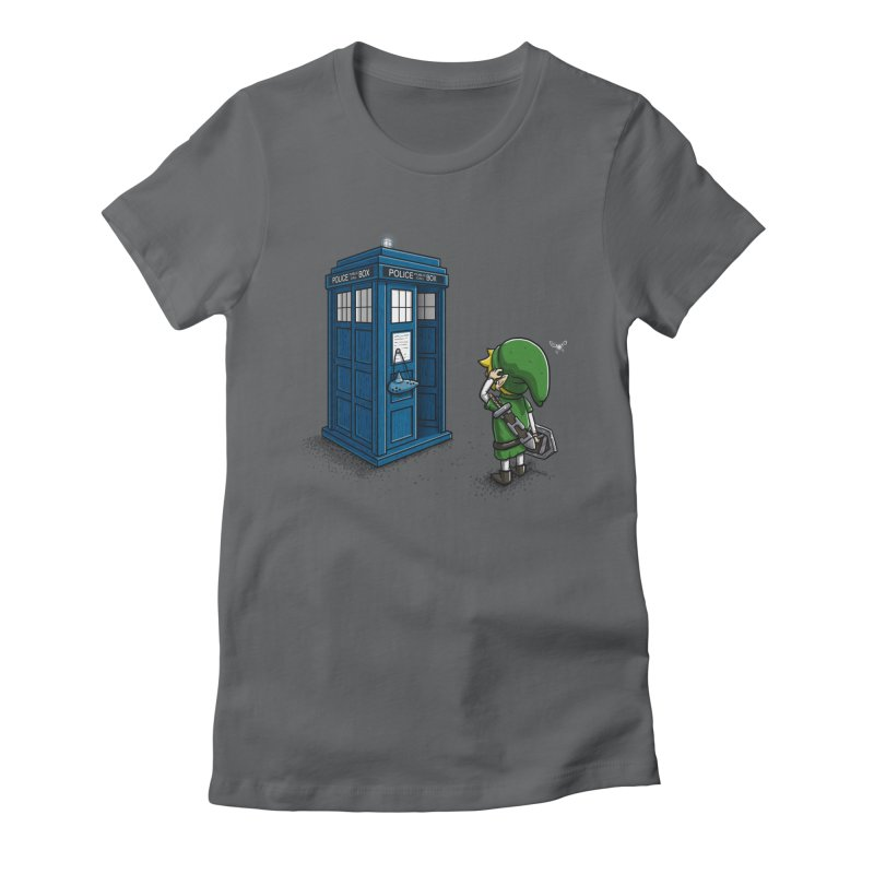 The Ocarina of Time Travel Women's Fitted T-Shirt by WIRDOU