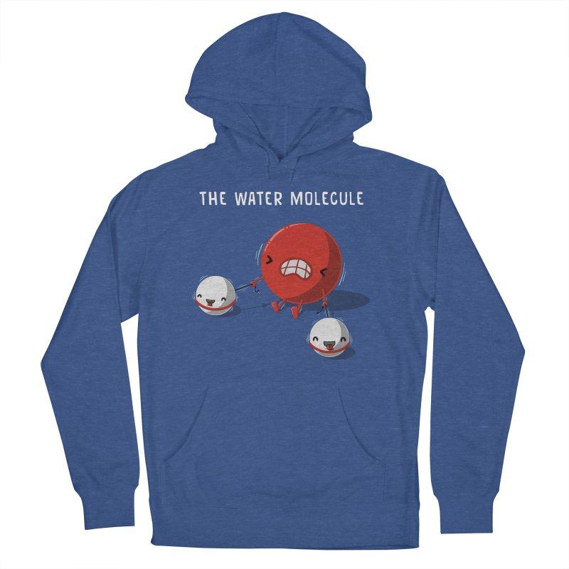 The water molecule Women's Pullover Hoody by WIRDOU
