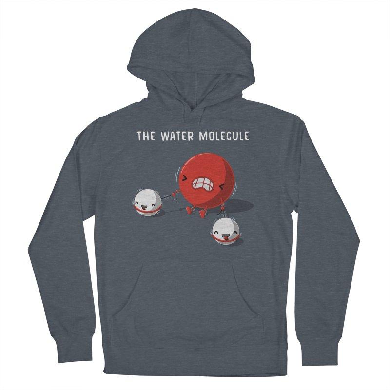 The water molecule Men's Pullover Hoody by WIRDOU