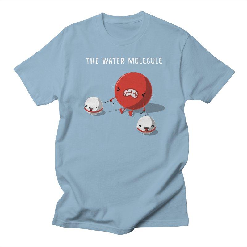 The water molecule Men's T-shirt by WIRDOU