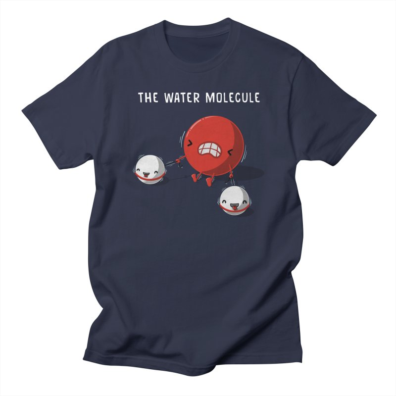 The water molecule Men's T-Shirt by WIRDOU