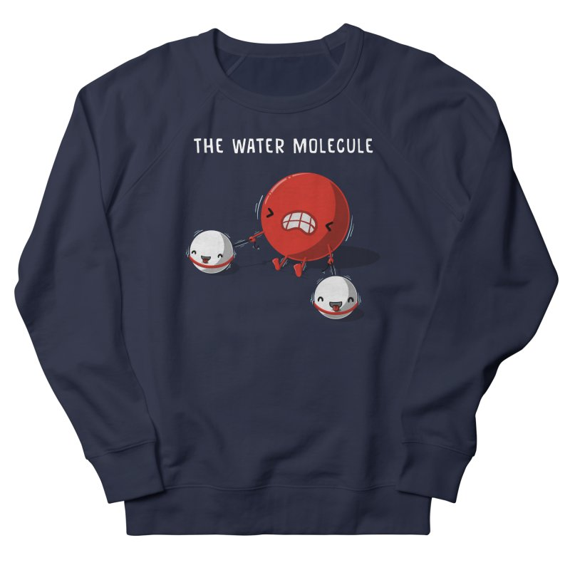 The water molecule Women's Sweatshirt by WIRDOU