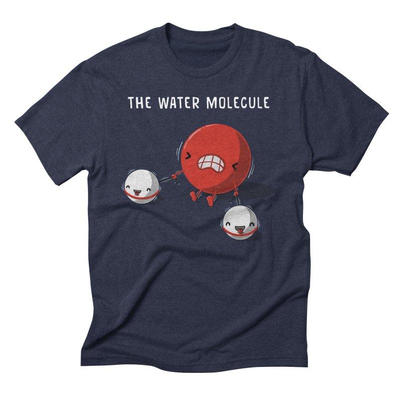 The water molecule Men's Triblend T-shirt by WIRDOU