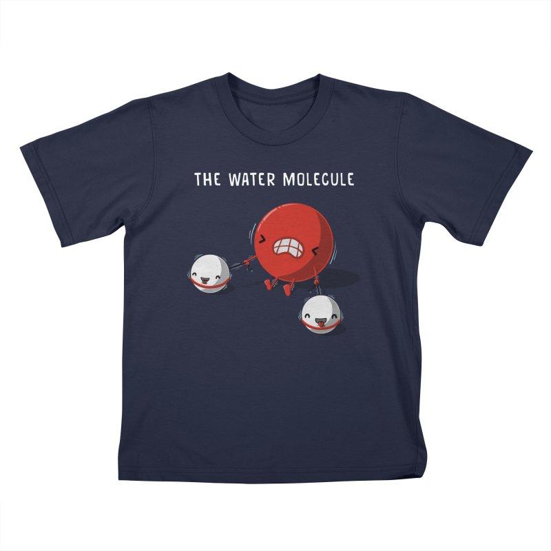 The water molecule Kids T-Shirt by WIRDOU