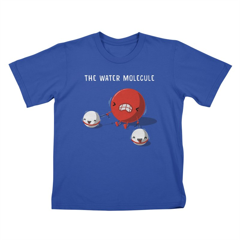 The water molecule Kids T-Shirt by WIRDOU