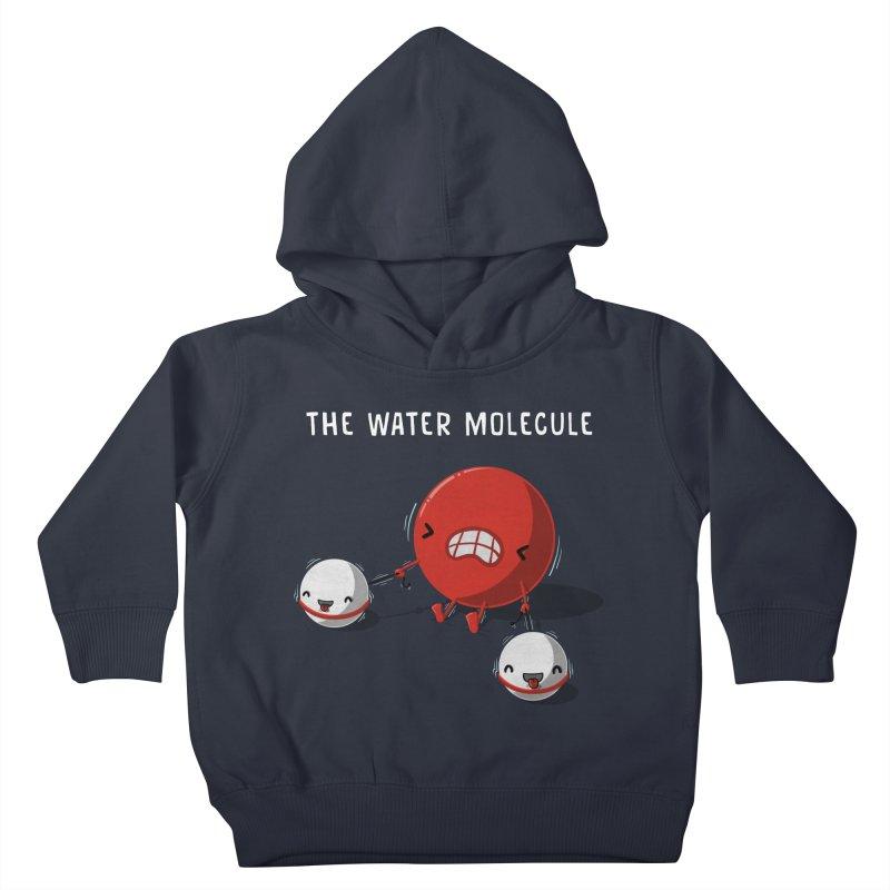 The water molecule Kids Toddler Pullover Hoody by WIRDOU