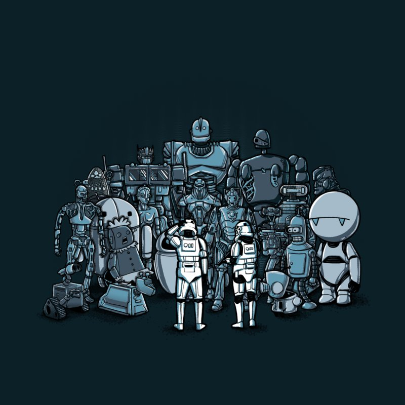 These aren't the droids you are looking for None  by WIRDOU