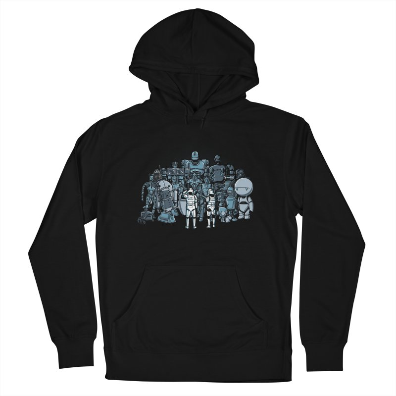 These aren't the droids you are looking for Men's Pullover Hoody by WIRDOU