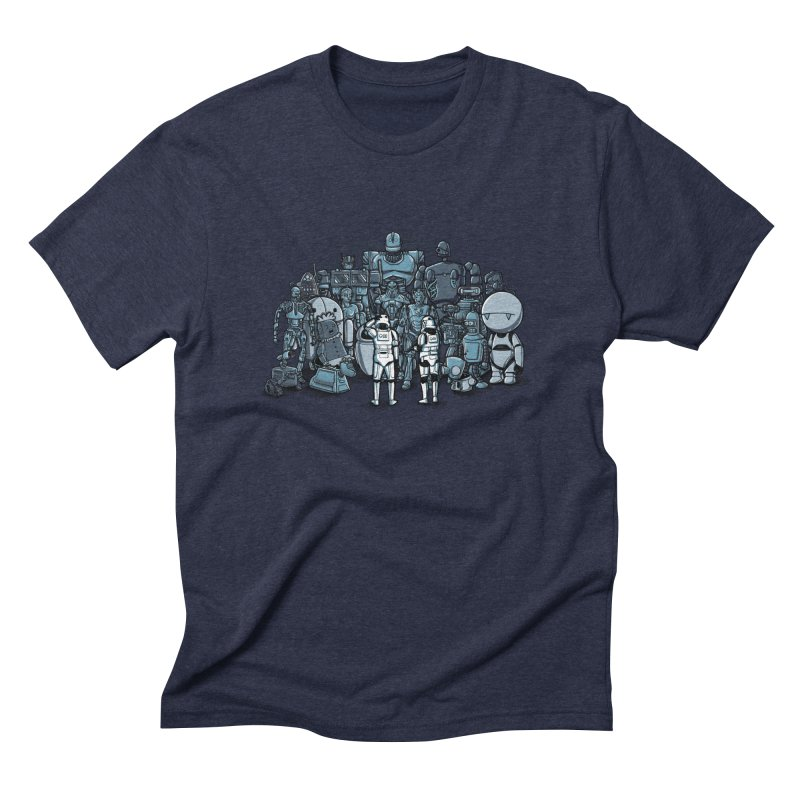 These aren't the droids you are looking for Men's Triblend T-shirt by WIRDOU