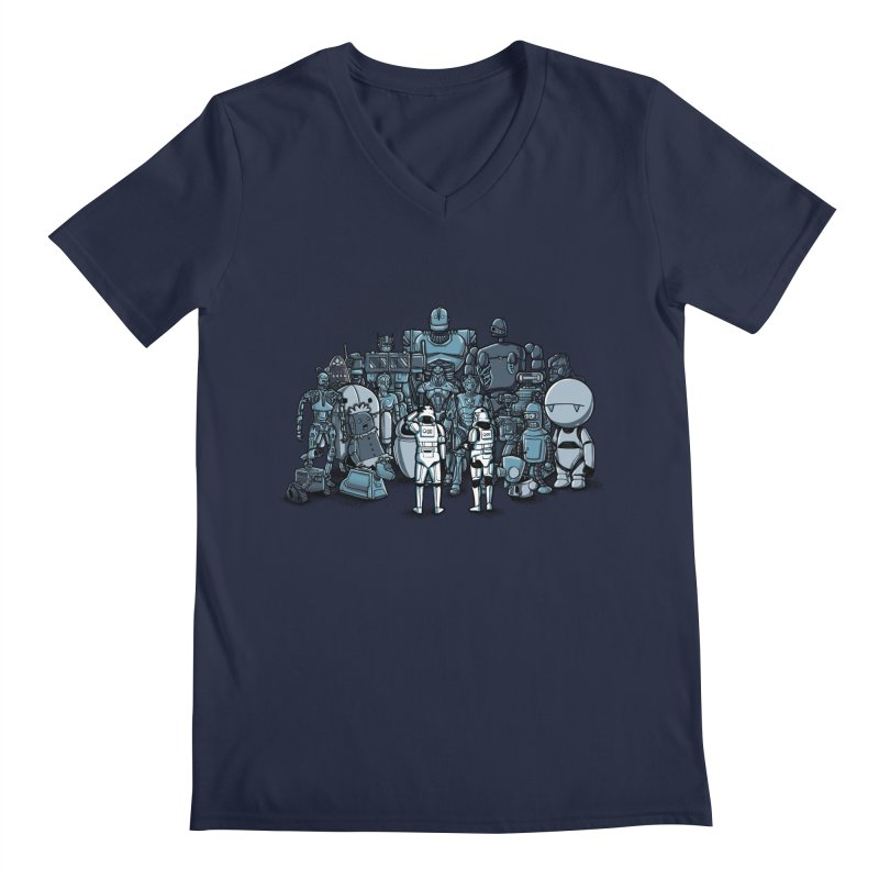 These aren't the droids you are looking for Men's V-Neck by WIRDOU