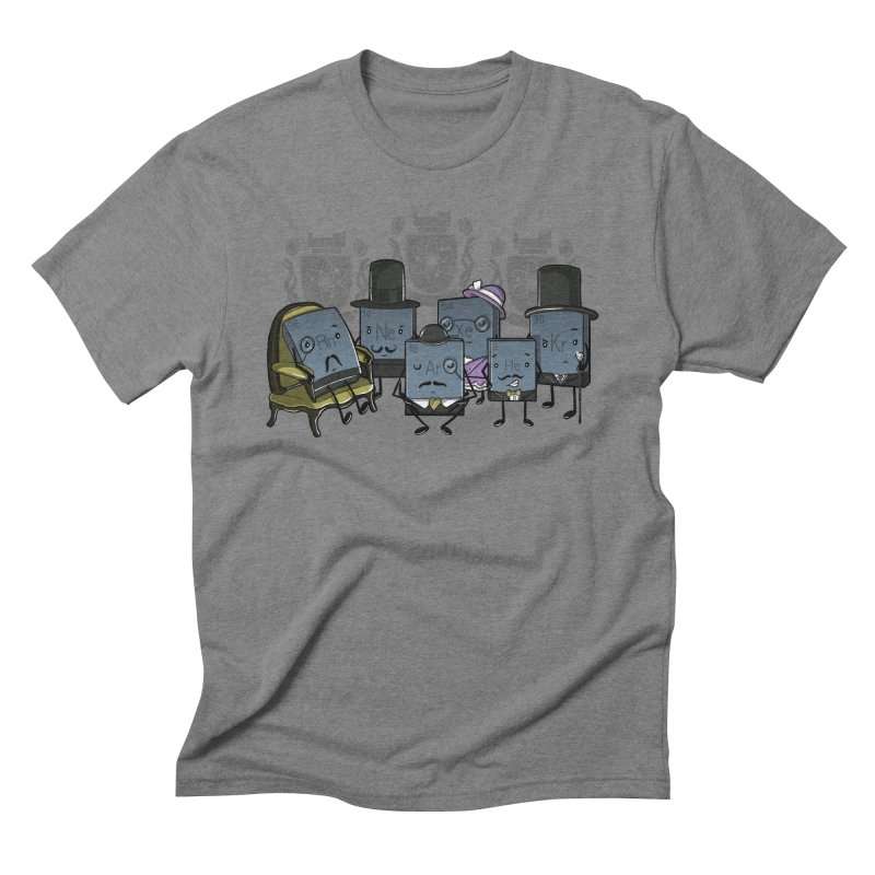 Noble Gases Men's Triblend T-shirt by WIRDOU
