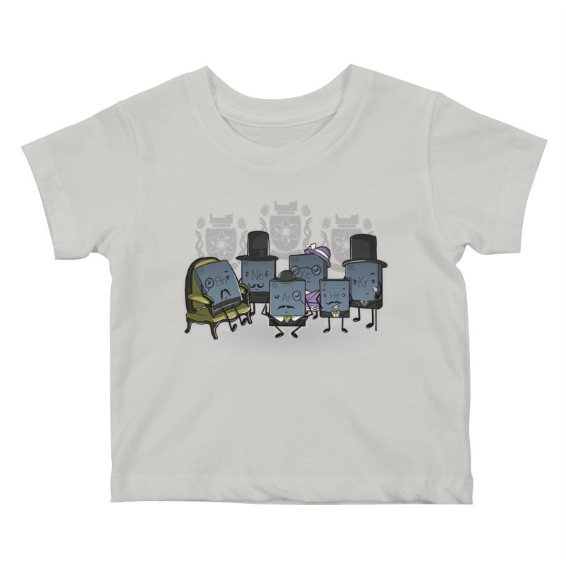 Noble Gases Kids Baby T-Shirt by WIRDOU